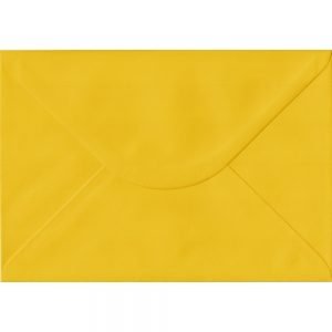100 C5/A5 Yellow Envelopes. Sunflower Yellow. 162mm x 229mm. 100gsm paper. Extra Value MultiPack.