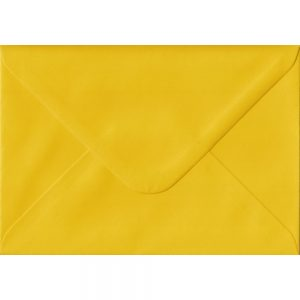 100 C6/A6 Yellow Envelopes. Sunflower Yellow. 114mm x 162mm. 100gsm paper. Extra Value MultiPack.