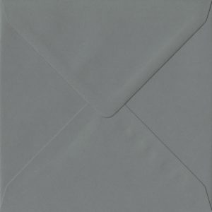 155mm x 155mm Vintage Grey Grey Gummed Square 135gsm Envelope