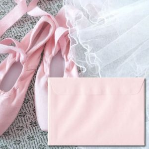 Ballerina Pink Envelopes