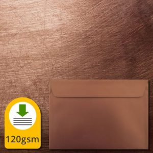 Metallic Bronze Envelopes