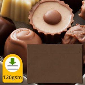Chocolate Brown Envelopes