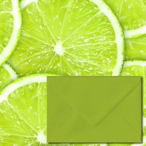 Fresh Green Envelopes