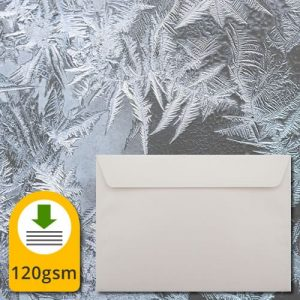 Luxury Ice White Envelopes