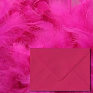 Fuchsia Pink Envelopes