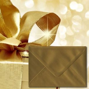 Luxury Gold Envelopes