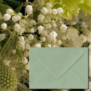 Heritage Green Envelopes