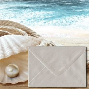 Oyster White Envelopes