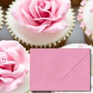 Pastel Pink Envelopes