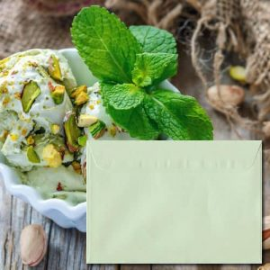 Pistachio Green Envelopes