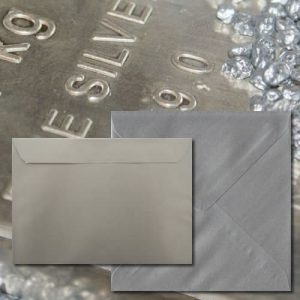 Luxury Silver Envelopes