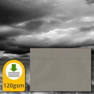 Storm Grey Luxury Envelopes