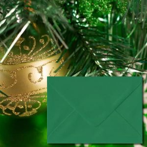Xmas Green Envelopes