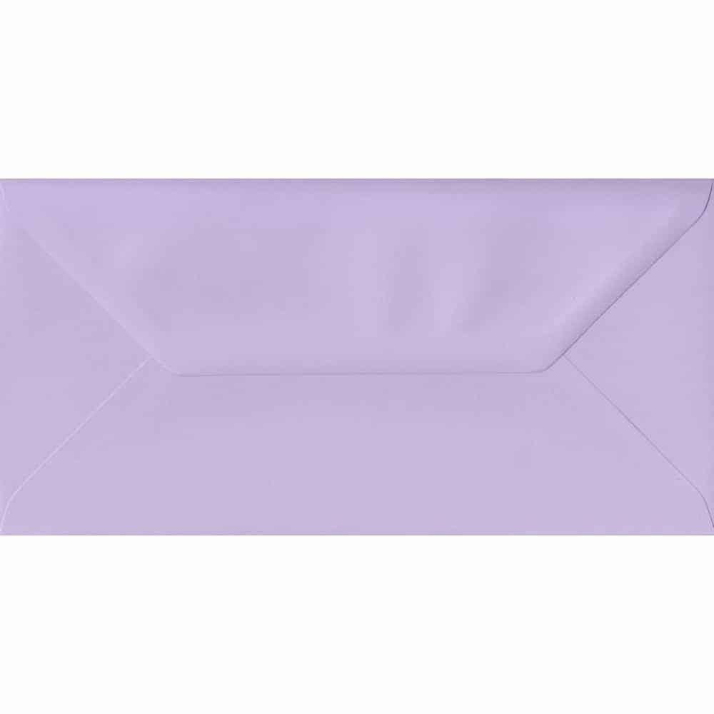 110mm x 220mm Amethyst Lilac Gummed DL 100gsm Envelope