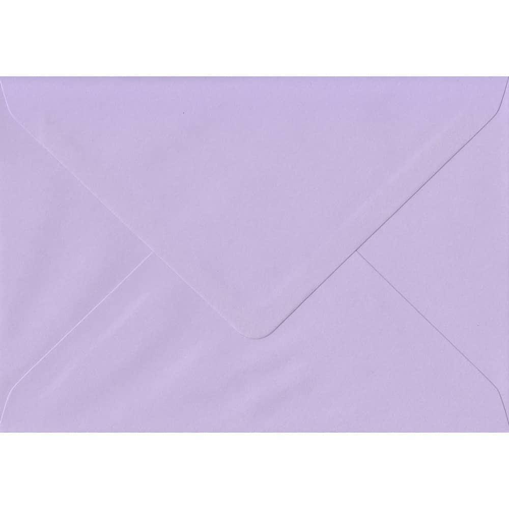 114mm x 162mm Amethyst Lilac Gummed C6/A6 100gsm Envelope