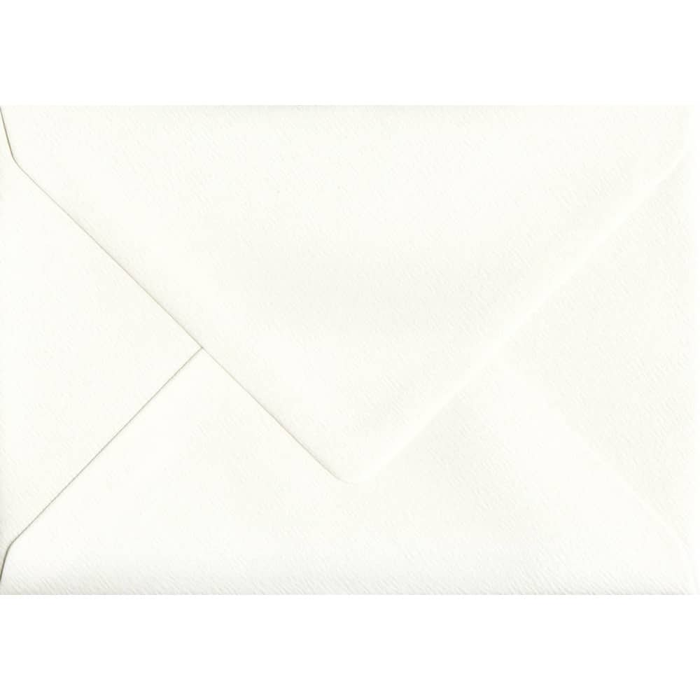114mm x 162mm Antique Silk Ivory Gummed C6/A6 100gsm Envelope
