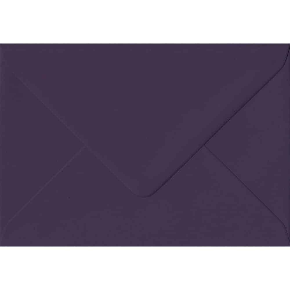 114mm x 162mm Aubergine Purple Gummed C6/A6 135gsm Envelope