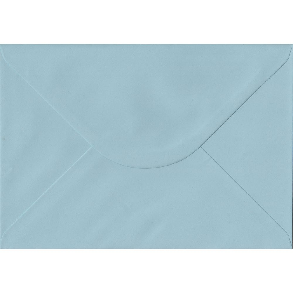 Baby Blue C5 162mm x 229mm Gummed A5 Size Colour Envelopes