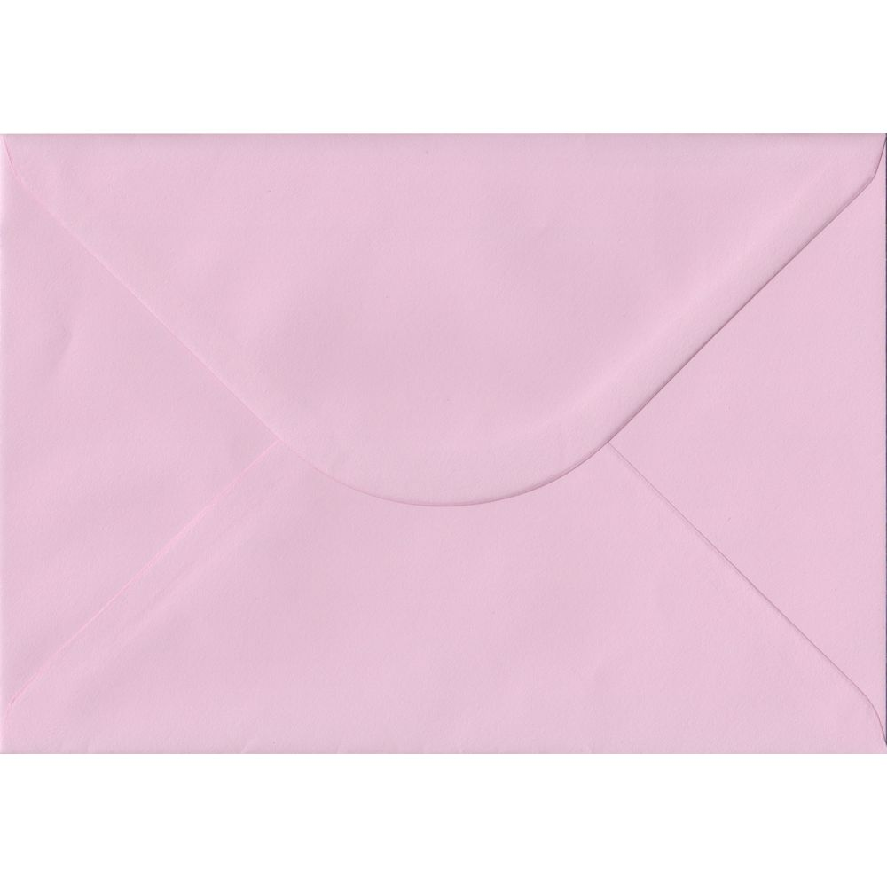 Baby Pink C5 162mm x 229mm Gummed A5 Size Colour Envelopes