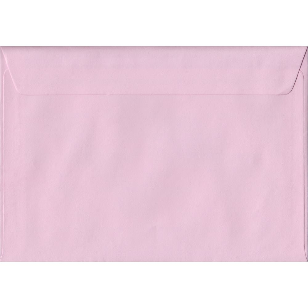Baby Pink C5 162mm x 229mm Peel/Seal A5 Size Colour Envelopes