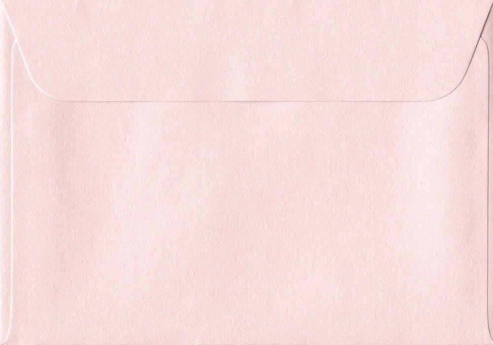 114mm x 162mm Ballerina Pink Peel/Seal C6/A6 Paper 120gsm Envelope