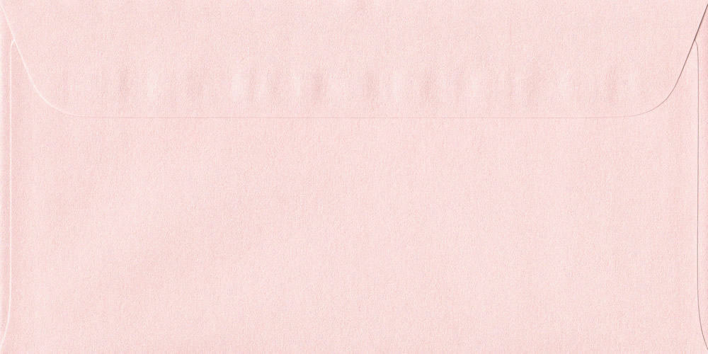 114mm x 224mm Ballerina Pink Peel/Seal DL Paper 120gsm Envelope
