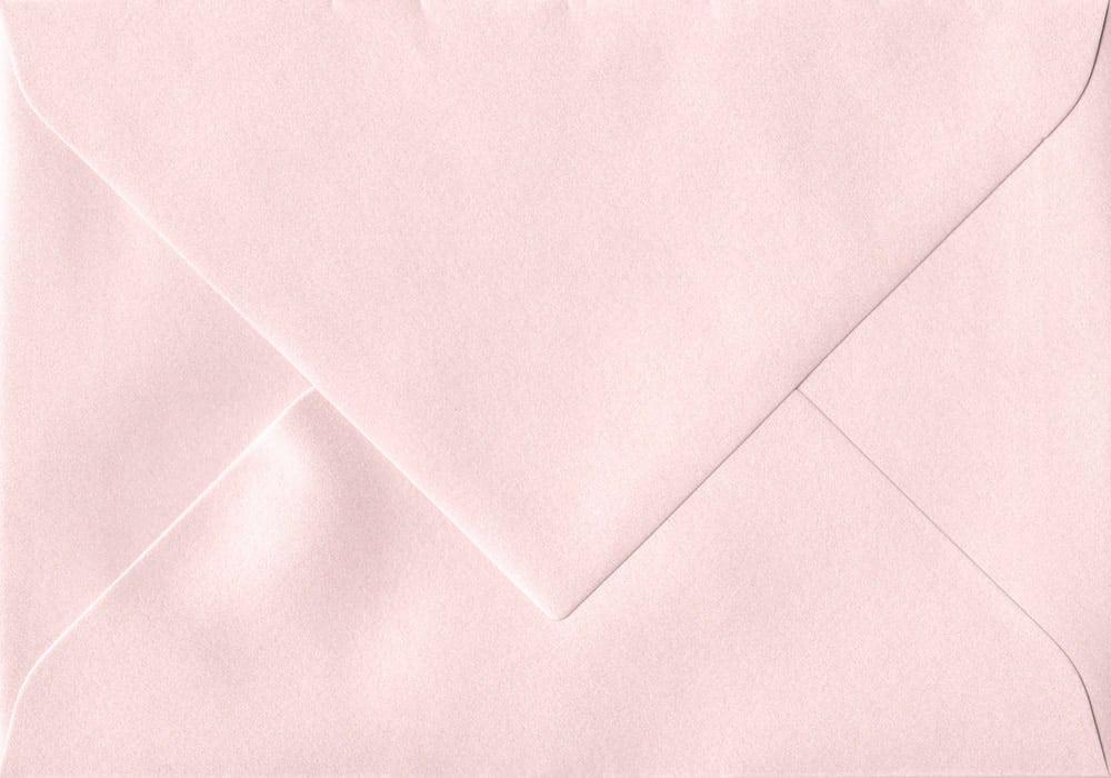 75mm x 110mm Ballerina Pink Gummed RSVP/Gift Card 120gsm Envelope