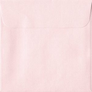 160mm x 160mm Ballerina Pink Peel/Seal Square Paper 120gsm Envelope