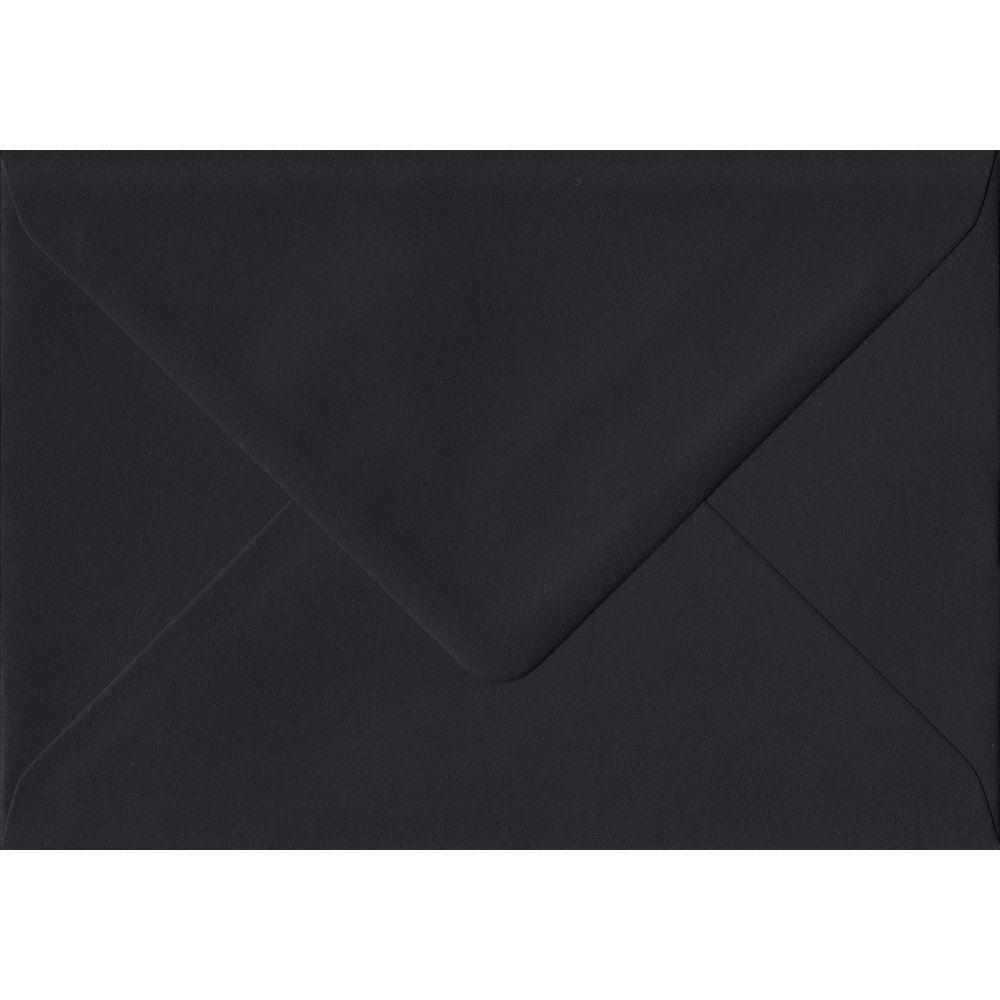 100 C6/A6 Black Envelopes. Black. 114mm x 162mm. 100gsm paper. Extra Value MultiPack.
