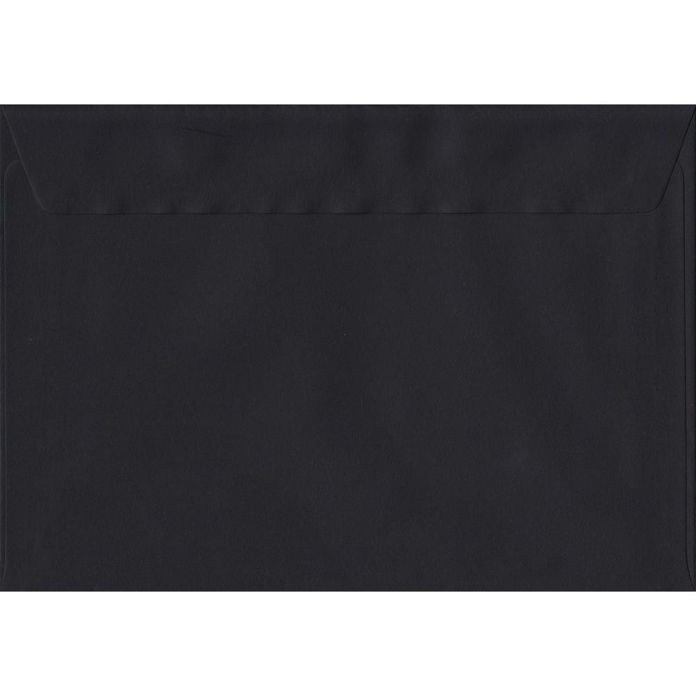 Black C5 162mm x 229mm Peel/Seal A5 Size Colour Envelopes