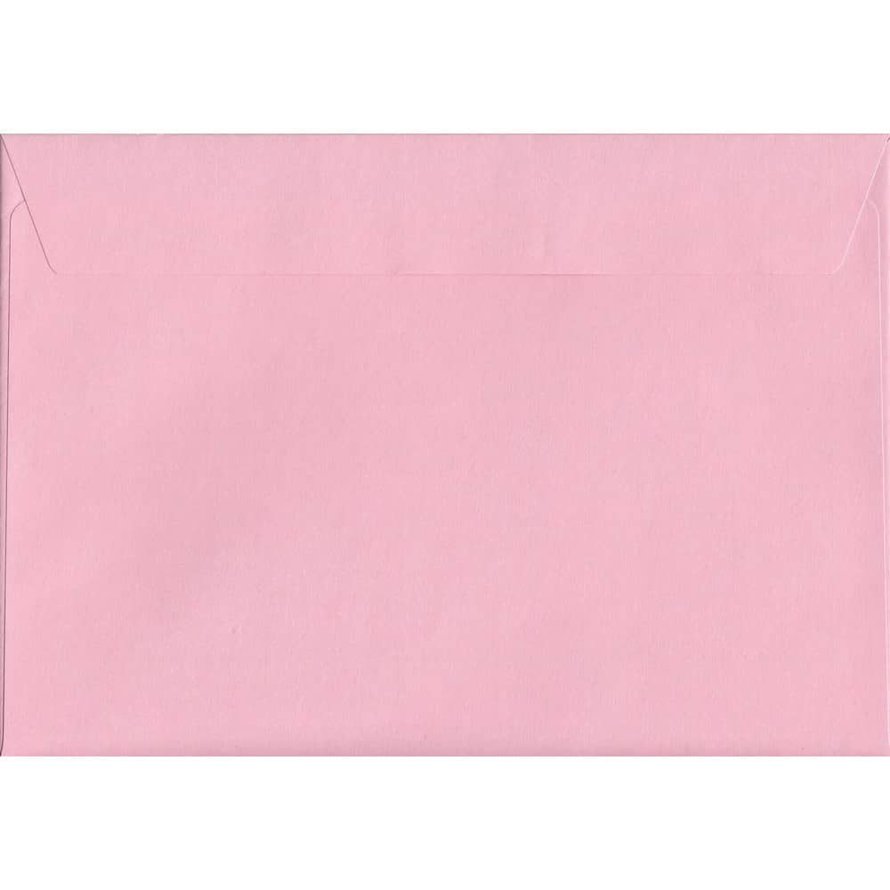 Pastel Baby Pink C4 229mm x 324mm Peel/Seal C4 Colour Envelope