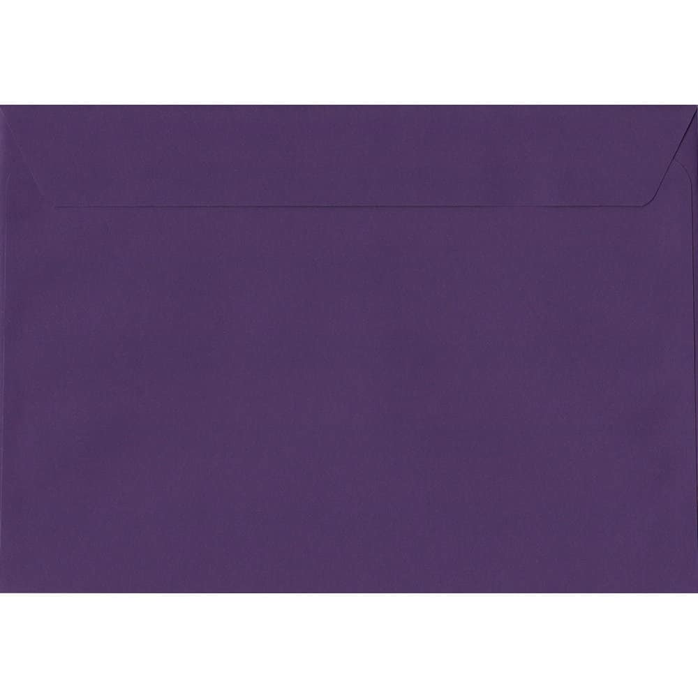 Blackcurrant 229mm x 324mm 120gsm Peel/Seal C4/Full A4 Sized Envelope