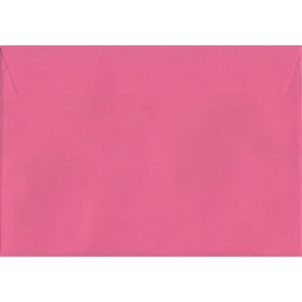 Vivid Cerise Pink C4 229mm x 324mm Peel/Seal C4 Colour Envelope
