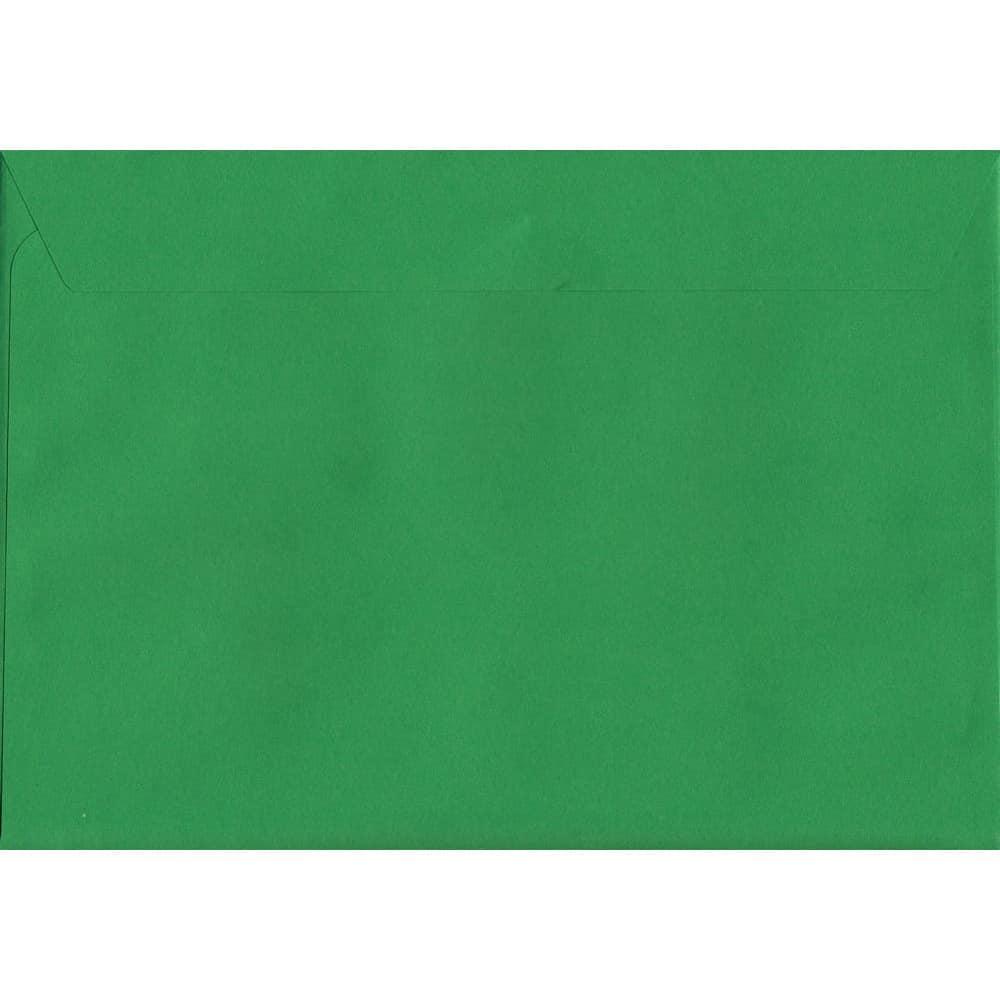 Vivid Holly Green C4 229mm x 324mm Peel/Seal C4 Colour Envelope