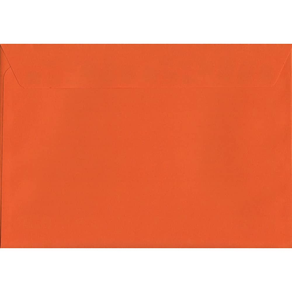 Vivid Sunset Orange C4 229mm x 324mm Peel/Seal C4 Colour Envelope