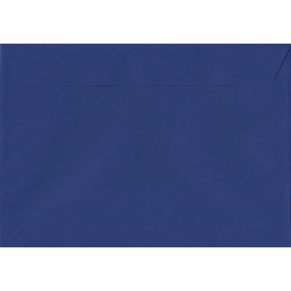 Victory Blue 229mm x 324mm 120gsm Peel/Seal C4/Full Size A4 Sized Envelope