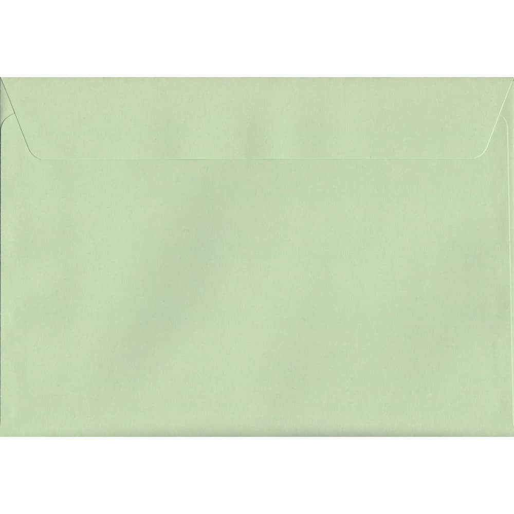 Pastel Apple Green C5 162mm x 229mm Peel/Seal C5 Colour Envelope