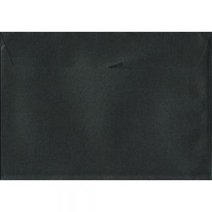 Box Of 250 Pearlescent Granite Black C4 229mm x 324mm Peel/Seal Coloured Envelopes