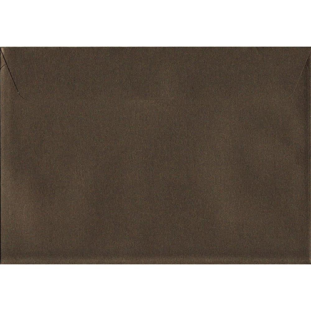 Pearlescent Antique Bronze C5 162mm x 229mm Peel/Seal C5 Colour Envelope