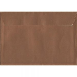 Metallic Copper C5 162mm x 229mm Peel/Seal C5 Colour Envelope