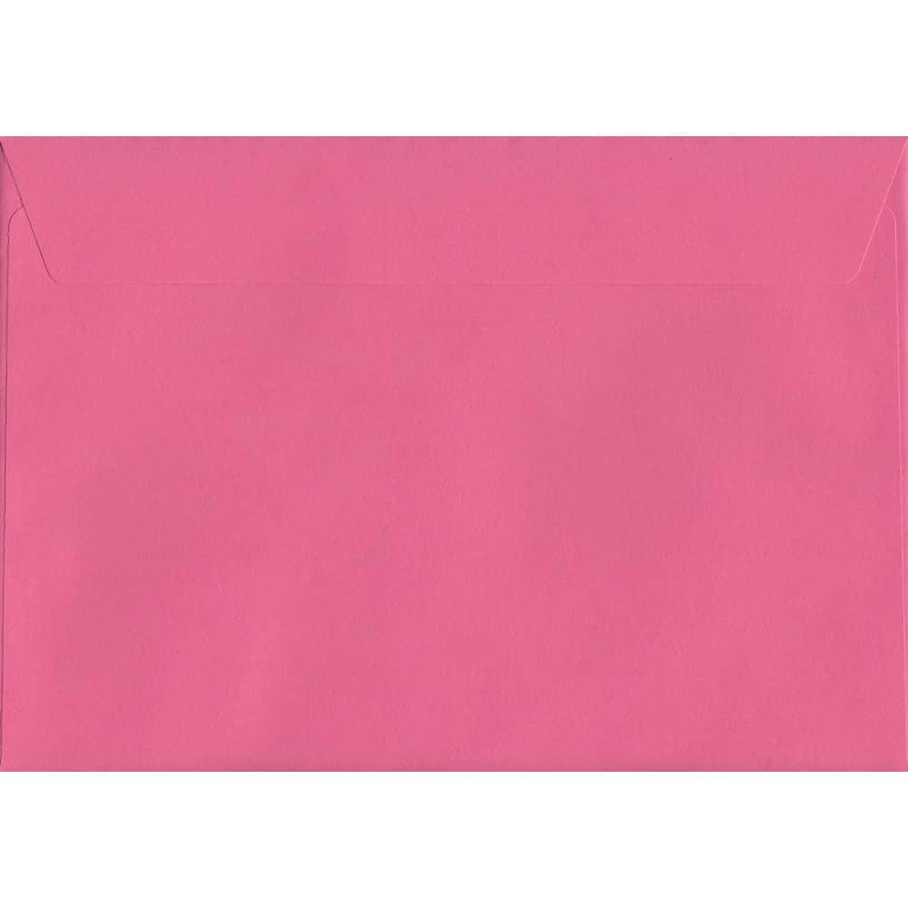 Vivid Cerise Pink C5 162mm x 229mm Peel/Seal C5 Colour Envelope