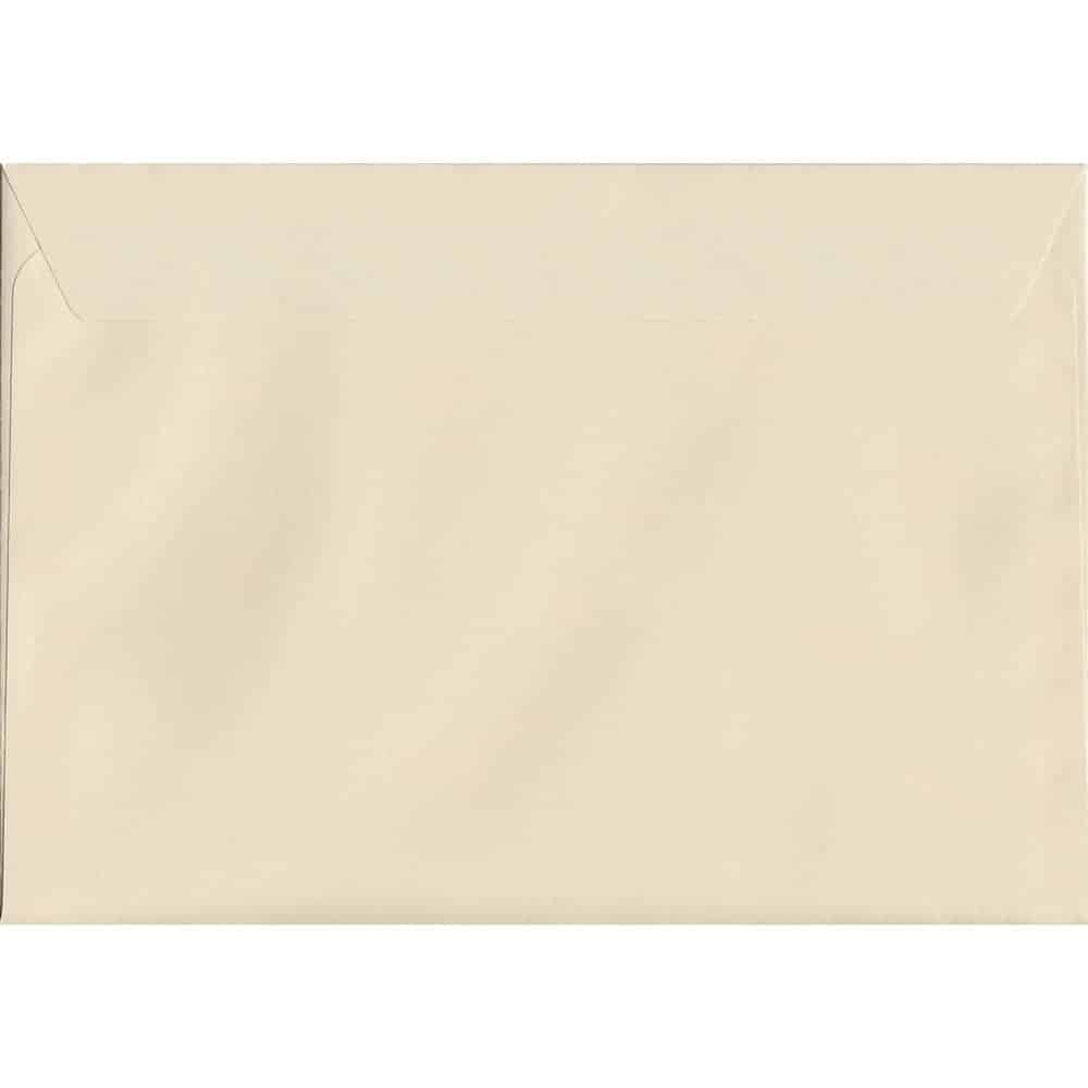 Pastel Clotted Cream C5 162mm x 229mm Peel/Seal C5 Colour Envelope