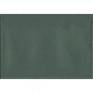 Box Of 500 Pearlescent Forest Green C5 162mm x 229mm Peel/Seal Coloured Envelopes