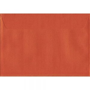 Pearlescent Fireburst Orange C5 162mm x 229mm Peel/Seal C5 Colour Envelope