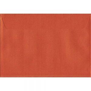 Pearlescent Fireburst Orange C5 162mm x 229mm Peel/Seal C5 Colour Envelope