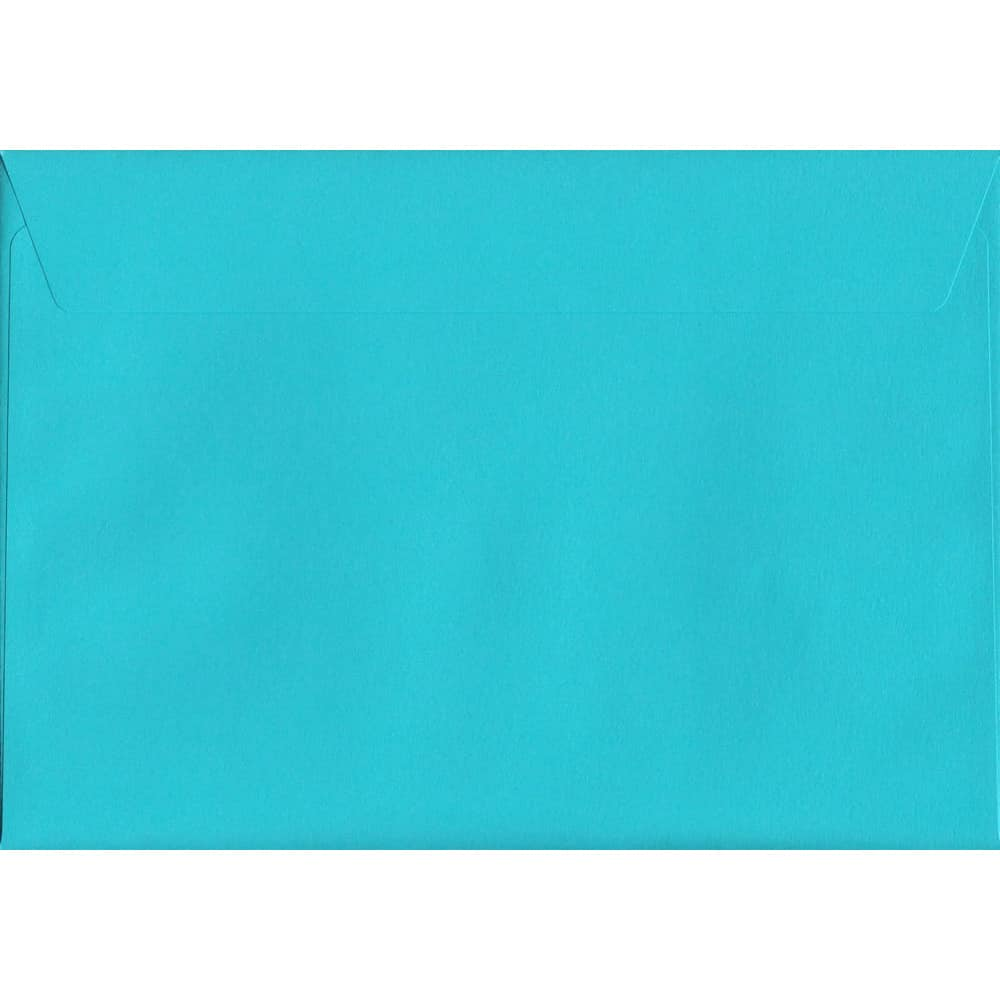 Vivid Pacific Blue C5 162mm x 229mm Peel/Seal C5 Colour Envelope