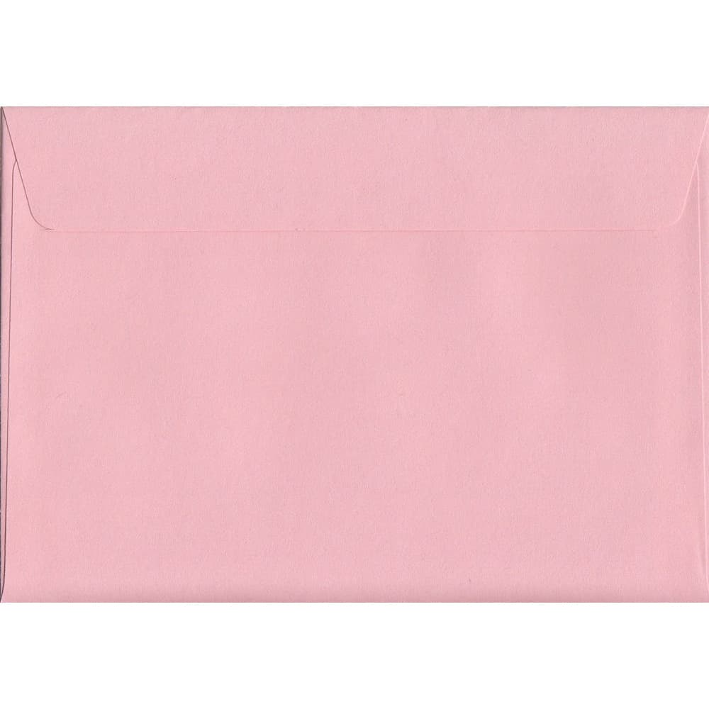 Pastel Baby Pink C6 114mm x 162mm Peel/Seal C6 Colour Envelope