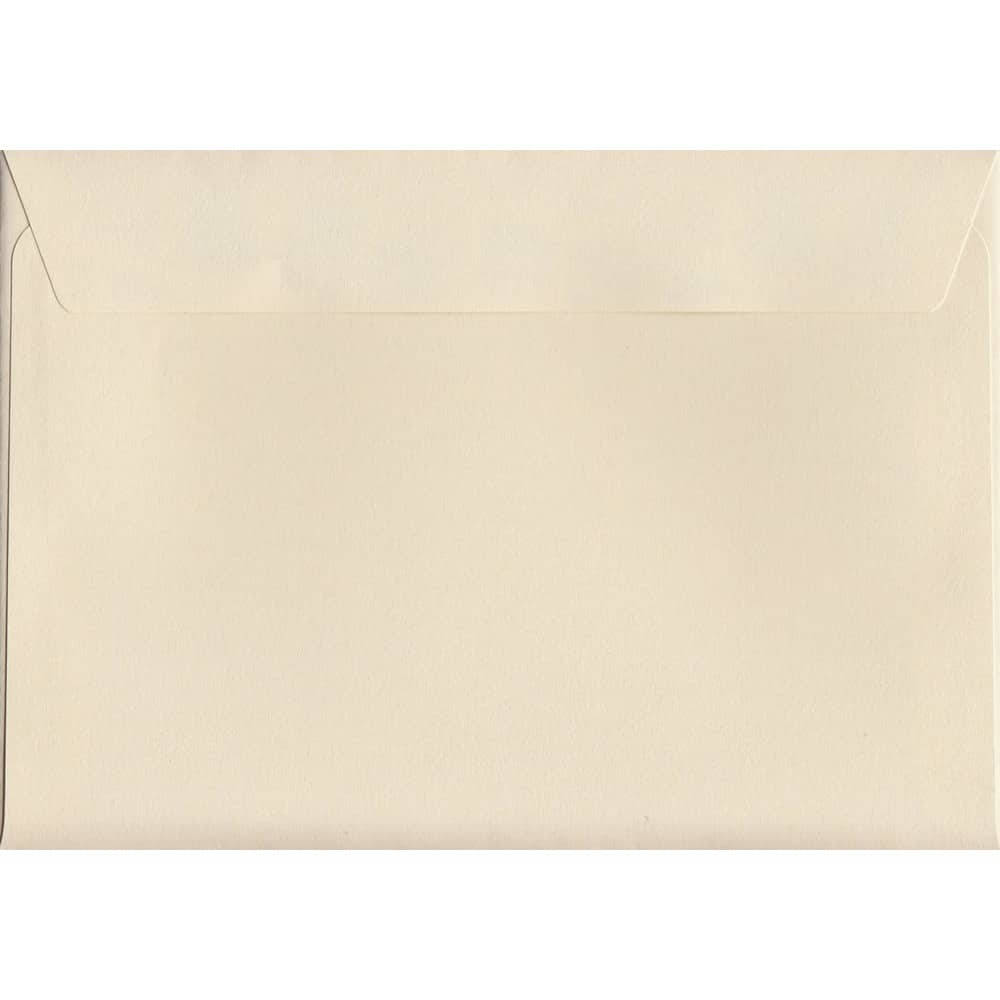 Pastel Clotted Cream C6 114mm x 162mm Peel/Seal C6 Colour Envelope
