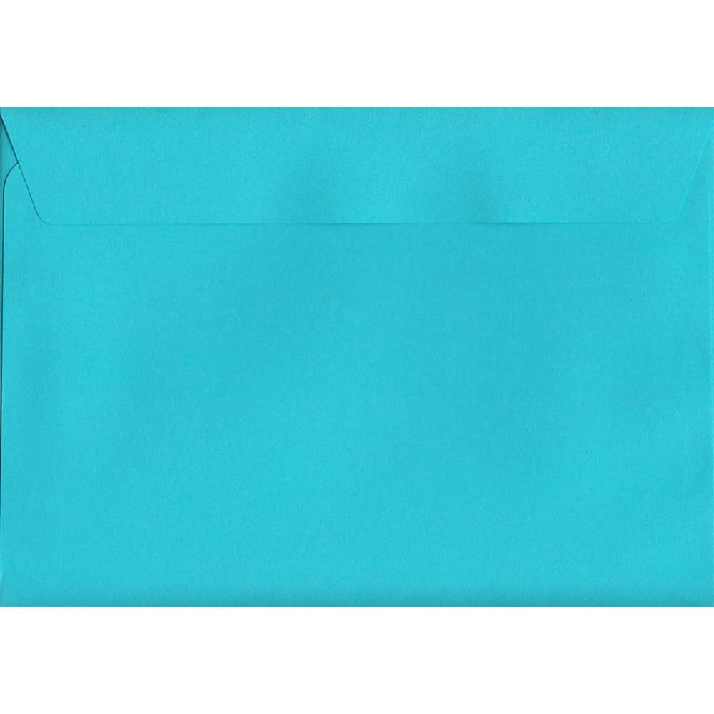 Vivid Pacific Blue C6 114mm x 162mm Peel/Seal C6 Colour Envelope