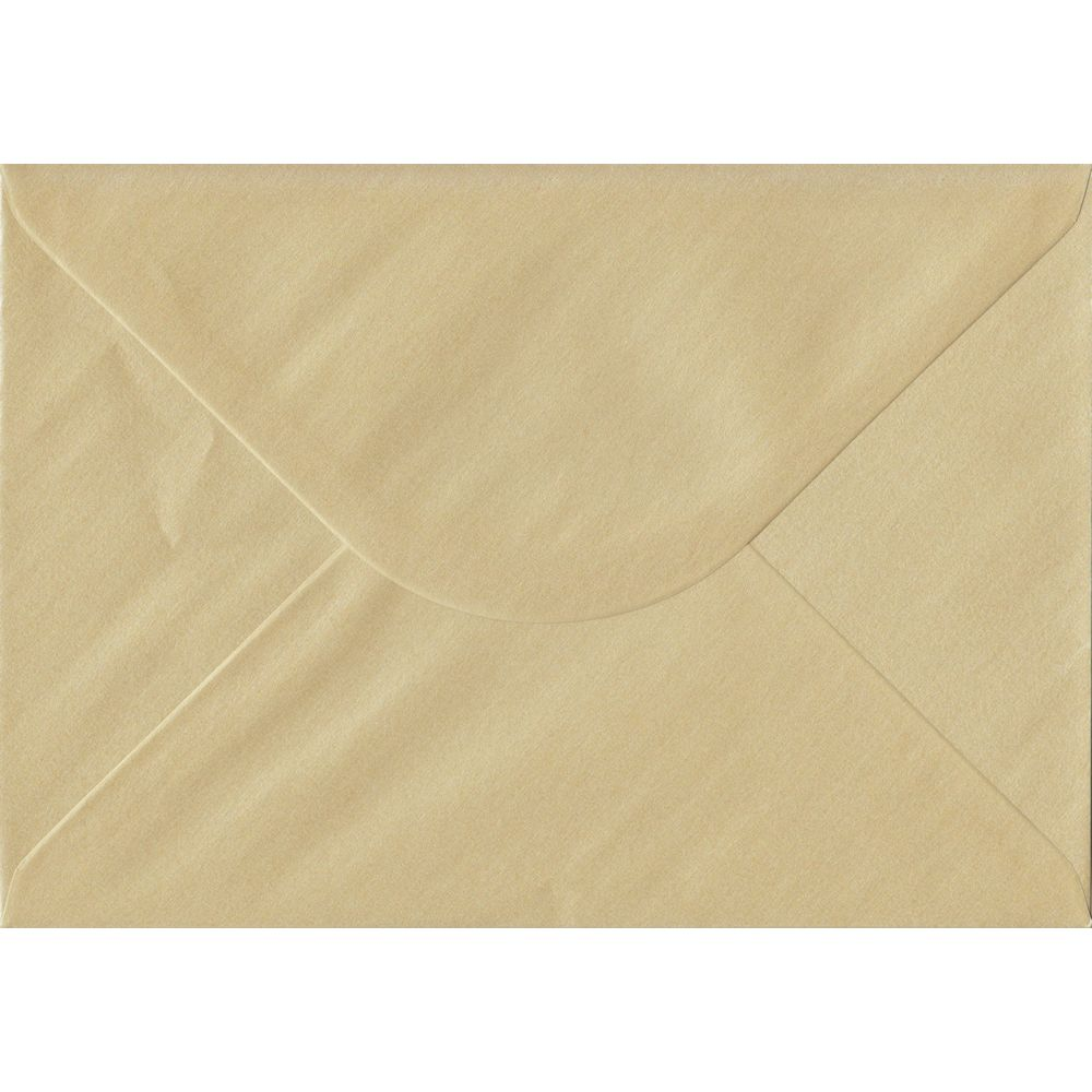 Pearl Champagne C5 162mm x 229mm Gummed A5 Size Colour Envelopes
